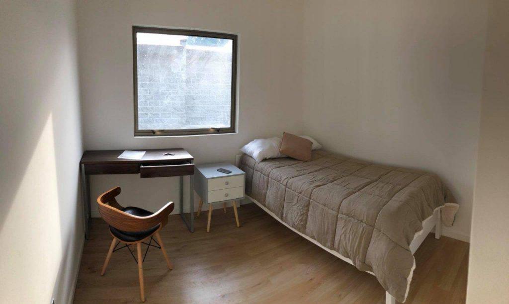 Dormitorio 2 de casa en arriendo en condominio de Cabrero, Biobio, Chile