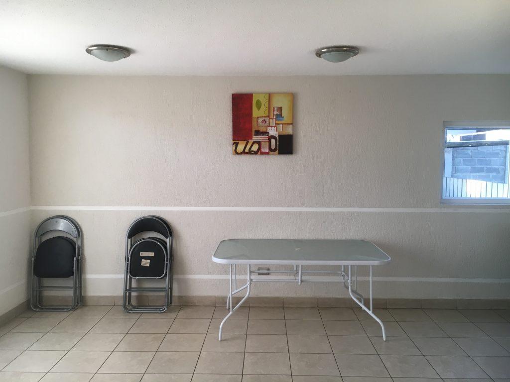 Sala de eventos en arriendo departamento Concepción Lomas de San Sebastián 2 dormitorios