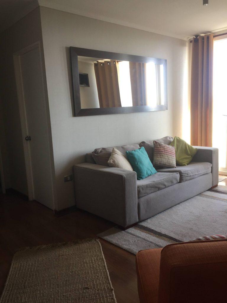 Arriendo departamento amoblado y equipado Concepción Valle Blanco Lomas de San Sebastián 2 dormitorios